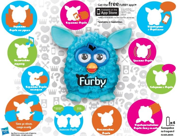 Furby Инструкция На Русском.Doc