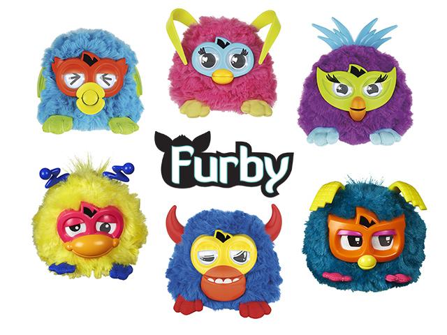 Мини Ферби (маленькие Фёрби) - купить, цена, обзор